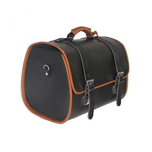 Vespa Original Ledertasche schwarz für den Gepäckträger GTS/Sprint/Primavera
