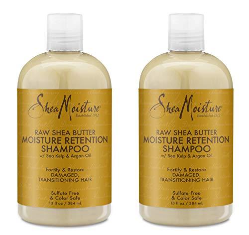 SheaMoisture Raw Shea Butter Moisture Retention Shampoo, 13 Ounces by Shea Moisture