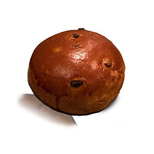 Vestakorn 3x rozijnenbroodjes, ambachtelijke broodjes, zoete broodjes met 20% Arabische rozijnen, 3 stuks