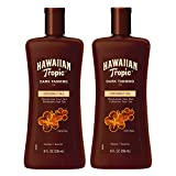 Hawaiian Tropic Dark Tanning Sun Care Moisturizing Oil 8 Ounces Twin Pack