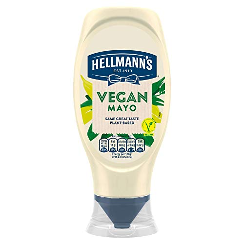 Hellmann's Vegan Squeezy Mayo, 394g