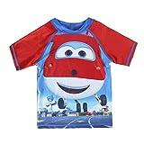 Super Wings S0712826 Camiseta, Azul, 3 años Unisex niños