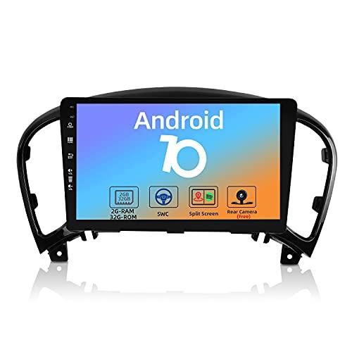 JOYX Android 10 Autoradio Compatibile Nissan Juke J15 (2010-2019) / YF15 Infiniti ESQ (2011-2017) - [2G+32G] - Camera Gratuiti - 9 Pollici 2 DIN - Supporto DAB 4G WLAN BT Carplay Volante Android Auto