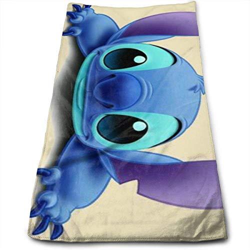 Hdadwy Acting Cute Lilo Stitch Towel 100% algodón de Lujo Toallas de baño Suaves, Gruesas, de Calidad, Toallas para baño, Hotel y Cocina (12 x 27,5 Pulgadas)