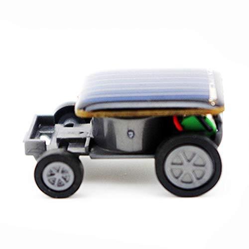 e-INFINITY Solar car Gadget Smallest Solar Power Mini Toy Car Racer Educational Solar Powered Toy energia Solar Kids Toys Cricket hot #06