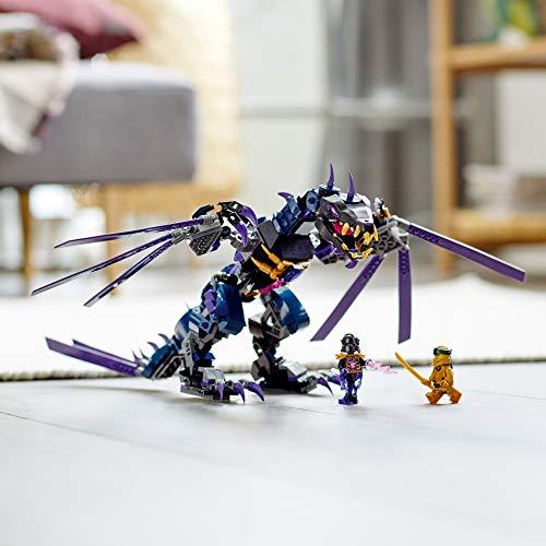 LEGO NINJAGO Legacy Overlord Dragon 71742 Ninja Playset Building Kit Featuring Posable Dragon Toy, New 2021 (372 Pieces)