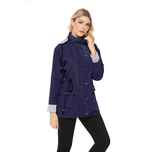 Chaqueta Impermeable Mujer Ligera