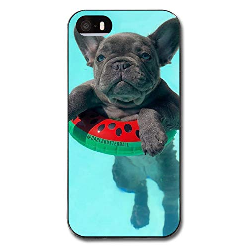 French Bulldogs Case for iPhone 5/5s, 5/5s Protective Cover, Cellphone Case Cover Ultra-Thin Soft Microfiber