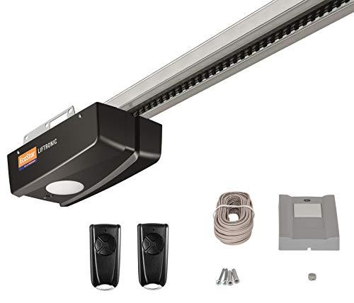 Hörmann Ecostar Garagentorantrieb Liftronic 700-2 (700 N, 433 MHz, inkl. 2 Handsender RSC 4 + 1 Innentaster PB 1, für Garagentore bis 11,25 m², inkl. Montagezubehör) 4510474