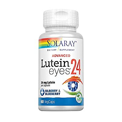 Solaray 24 mg Lutein Plus Capsule - Pack of 60