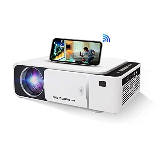 Mini Beamer, 6000 Lumens Heimkino Video Beamer Full HD 1080P mit 200