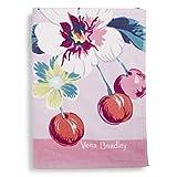 Vera Bradley Women's Double Sided Beach Towel, Rosy Garden Picnic