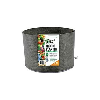 Smart Pots 7-Gallon Smart Pot Soft-Sided Container Black