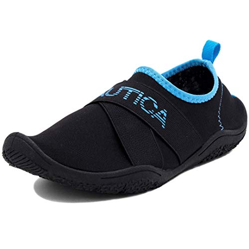Nautica Rawan - Zapatillas deportivas para mujer, Negro (Negro/Azul), 38 EU
