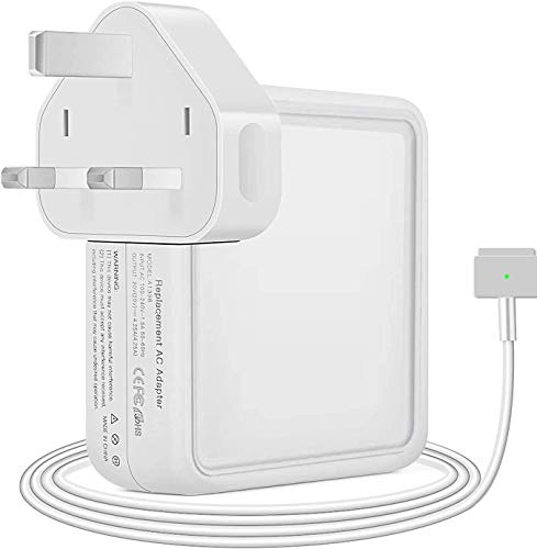 Compatible with Mac Book Pro Charger 60W,T-Tip Power Adapter Charger Replacement for Mac Book Pro 13 Inch (for MacBook Pro Late 2012,2013,2014,2015) With 1.8m cable