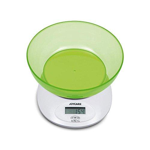 Joycare jc-1423Báscula Digital Cocina con cuenco, verde