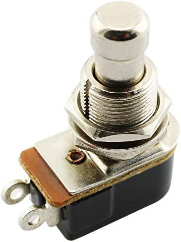 PSCCO Electric Guitar Effects Pedal Box Push Button Momentary Stomp Foot Switch for Electric product image