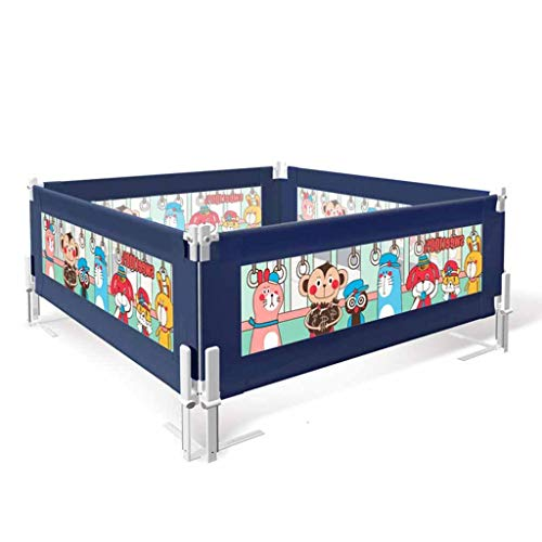 WDMC kinderbed, anti-druppel bed, kinderbed, Fence Bed, windgeleider, nachtkastje, met geïntegreerd beveiligingssysteem