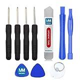 MMOBIEL Kit 10 en 1 de Herramientas para reparación inclyendo Destornilladores, Herramientas pry....