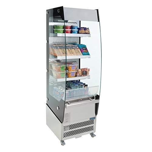 Polar Multideck Display Kühlschrank 220Liter 1740x 494x 600mm Commercial Kühlschrank