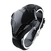 Fashion Watch, sehr cooles Design, wie ein Tier Cobra. Digitale Armbanduhr für Männer Silikonband für den Sport geeignet. Spezielles Design, sehr charmant für alle Gelegenheiten.Unglaublich aussehende Uhr, ein tolles Geschenk für Freunde. Paket entha...