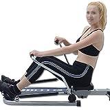 Ruderzugmaschine mit Multifunktionale Körper Glider Rudergeräte Indoor Heimtrainingsgerät Fitnessgeräte Gym Drehmaschine (Farbe : Mehrfarbig, Größe : Einheitsgröße) - 5