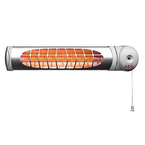 AEG Haustechnik AEG 234822 IWQ 60-Radiador de infrarrojos para cambiador (600 W), 230 V, gris
