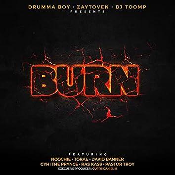 Burn (feat. Noochie, Ras Kass & Torae)
