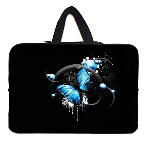 YNLRY Elegante bolsa de mano para portátil de 10 12 13 pulgadas 11.6 14 15 15.4 15.6 17 Funda Portatil Bolsas Neopreno Chromebook Pouch Case (Color: H019, tamaño: 12 pulgadas)