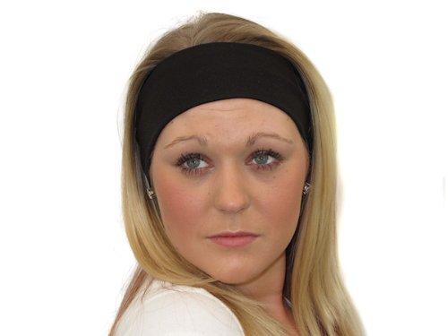 Glitz4Girlz Black Wide Headband by Glitz4Girlz
