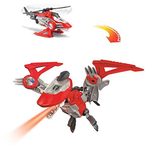 Oferta de VTech Switch&Go Dinos, Sky el pteranodonte, Dinosaurio Que se transforma en vehículo, Juguete para niños +3 años, Versión ESP (3480-197322), Color Rojo