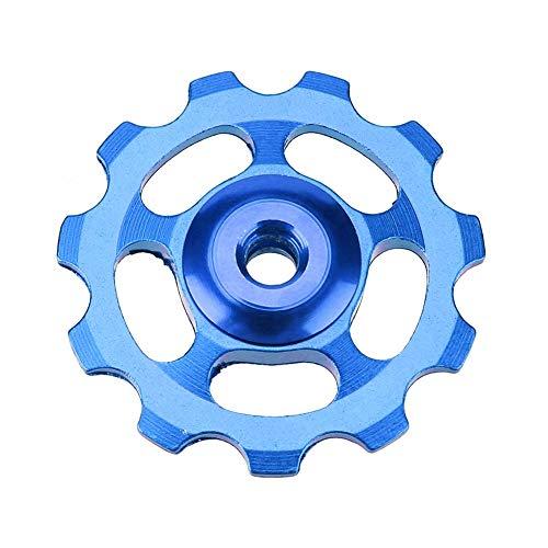 Domybest Rodillo de guía de aleación de Aluminio 11T para Cambio Trasero de Bicicleta montaña Bicicleta de Carretera Rodillo guía de CNC Piezas para Bicicletas, Azul