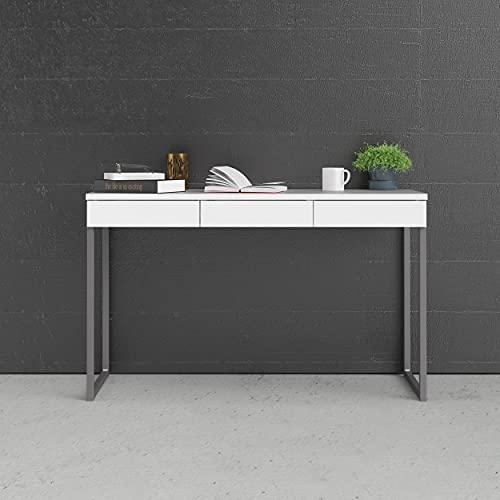 Tvilum Desk, Madera de ingeniería, Blanco