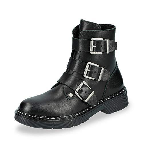BULLBOXER AHC520E6L-BLCK Enkellaarzen/Low boots meisjes Zwart Laarzen