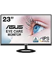 【Amazon.co.jp限定】ASUS 無框顯示器 23英寸 IPS 薄7mm的超薄減輕藍光 無閃爍 HDMI,D-sub 揚聲器 VZ239HR