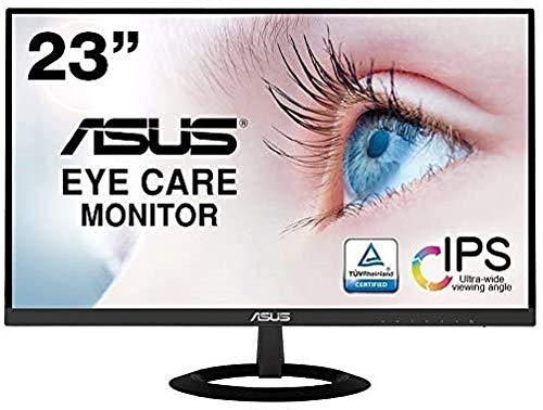 【Amazon.co.jp限定】ASUS フレームレス モニター 23インチ IPS 薄さ7mmのウルトラスリム ブルーライト軽減...