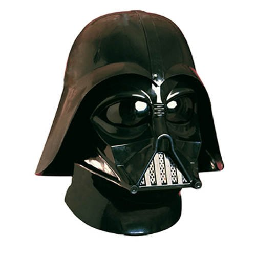 Set di accessori per costume da Star Wars di Darth Vader, maschera e casco.