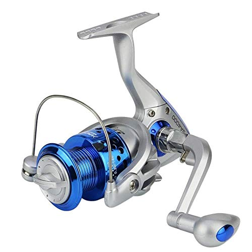 HXF- La Pesca con caña Movimiento Metal, 12-Pesca Eje de la Rueda, Rueda de Hilado, Chapado de Cabeza, Pescado Carrete, Carrete, Pesca Precisión (Size : 3000)