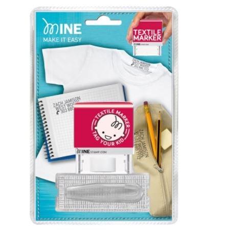 Colop Stempel für Kleidungskennzeichnung, 38 x 14 mm, 4 mm Buchstabengröße, für bis zu 3 Zeilen Text