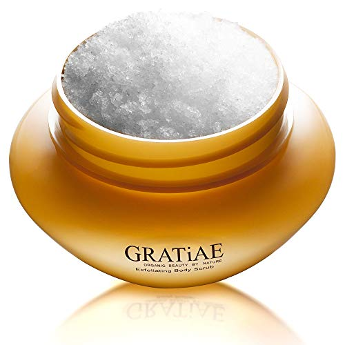 Gratiae Organic Exfoliating Body Scrub Apple, Green Tea & Ginger...