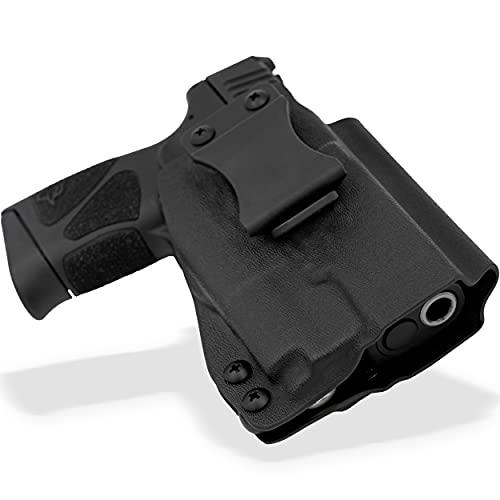 Skydas Gear Kydex Holster fits Taurus G2C & G3C w/Olight PL-Mini 2 Attached (G2, G2S, PT-111, PT-140) Right Hand IWB Concealment Black