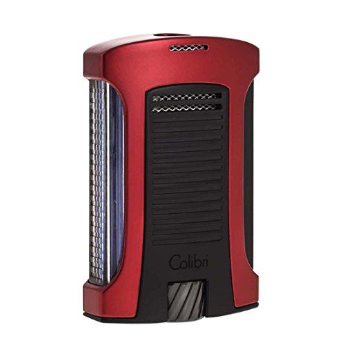 Fackel-Feuerzeug Colibri Daytona Red