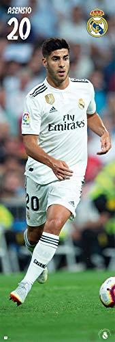 Erik Editores Poster Tür Real Madrid 2018/2019 Asensio, 53 x 158 cm