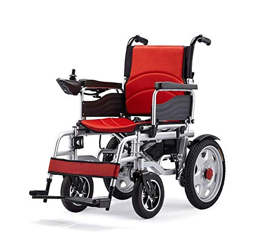 FTFTO Home Accessories Elderly Disabled Lithium Battery Electric Wheelchair for The Elderly/Disabled Electric Wheelchair Can Carry 100Kg Intelligent Automatic Fourwheeled Scooter