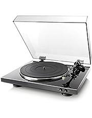 DENON アナログレコードプレーヤー フルオート ブラック DP-300F-K