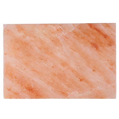 Focus Nutrition Pink Himalayan Salt Block Grilling Plate for Cooking and Serving