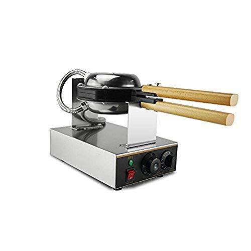 SHINA 220V Machine électrique à gateau aux oeufs de pain en poudre en acier inoxydable à la coque antiadhésive avec prise UK/EU