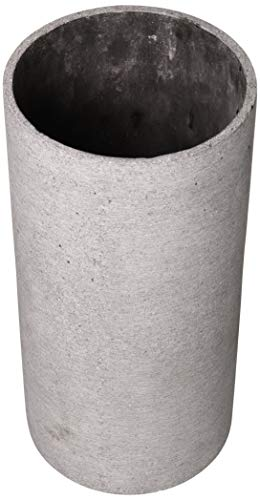 blomus -COLUNA- Vase L aus Polystone, dunkelgrau, puristische Beton-Optik, dekorative Vase in moderner Optik, hohe Tischdeko, exklusives Wohnaccessoire (H / B / T: 29 x 12 x 12 cm, dunkelgrau, 65627)