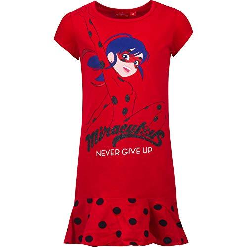 Miraculous Ladybug jurk shirt zomerjurk meisjes longshirt maat 104-128