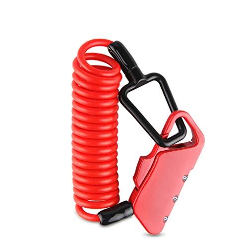 ZTT Mini Lock Bicicletas, 1200mm Plegable Mochila Casco de Acero de la...